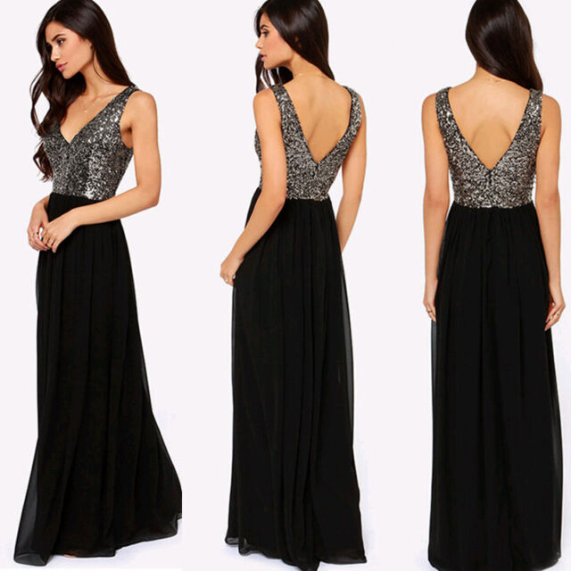 Sexy WOmens Long Lace Cocktail Evening Formal Party Prom Gown Bridesmaid Dress