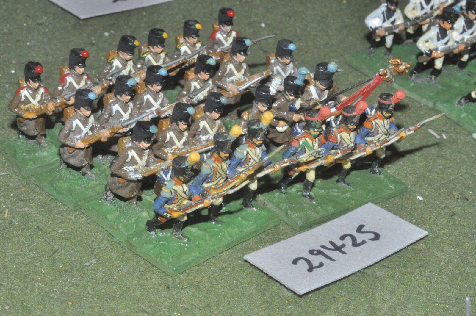 25mm napoleonic   french - line 24 figures - inf (29425)