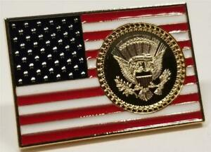 President-Donald-Trump-USA-Flag-Lapel-Pin-White-House-POTUS-Seal-amp-Signatures