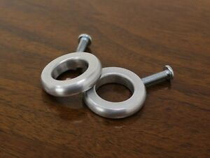 Pair of mid century modern paul mccobb ring pulls knobs handles ebay