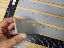 4 New 2x 30inch Floor Squeegee Blades Gray Vinyl Rubber Blade Carlisle 366030r
