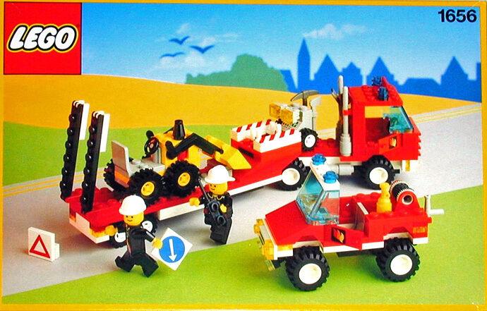 Nouveau LEGO Classic Town Fire 1656 evacauation équipe Neuf Scellé