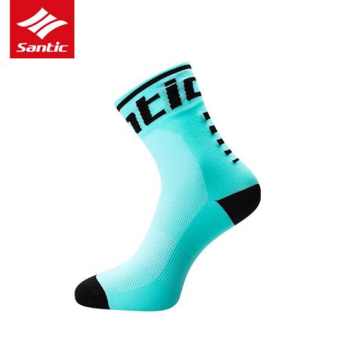 SANTIC Anti-sweat Running Cycling Sports Socks Ankle Unisex Socks 1//3//5 Pairs