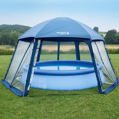 Pavillon 500x433x250cm Poolpartyzelt Pooldach Gartenpavillon Aufstellpools