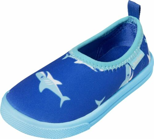 Playshoes UV-Schutz Aqua-Slipper Hai Badeschuh Hausschuh
