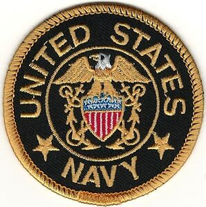 978b7ef5c57 Military Seal of The United States US Navy Embroidery Patch