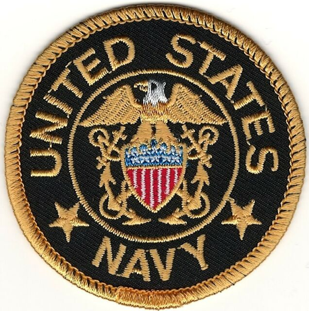 Military Seal Of The United States Us Navy Embroidery Patch Ebay