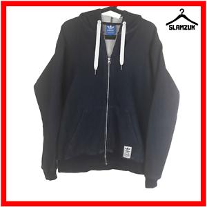 Adidas-Hoody-Mens-M-Medium-Hoodie-Blue-Navy-Hooded-Sweatshirt-Top