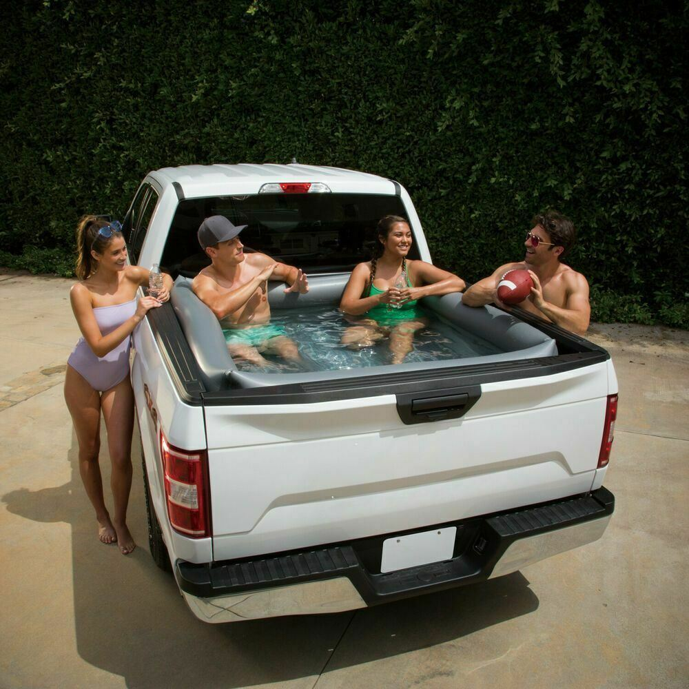 Summer Waves Inflatable Pickup Truck Bed Swimming Pool Portable Water Car Party
