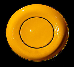 Beautiful-Vintage-Thomas-of-Germany-Scandic-Large-Yellow-Saucer