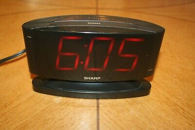 Sharp Digital Bedroom Alarm Clock (Model SPC033) 49353738338 | eBay