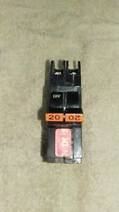 Federal-Pacific-20-Amp-2-Pole-NC220-THIN-Breaker-FPE