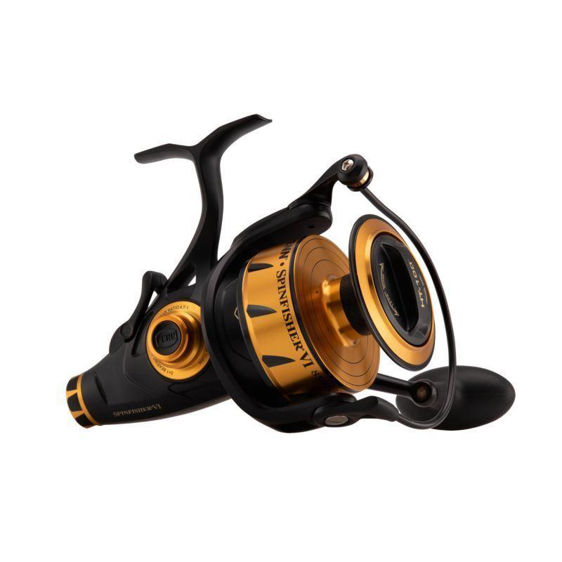 Penn Spinfisher VI 6500 Cocherete Cocherete Fijo Forro En Vivo