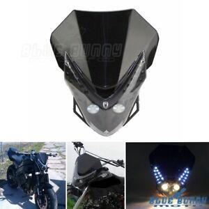 Off-Road-Motorcycle-Streetfighter-LED-Headlight-Fairing-For-Honda-Suzuki-Yamaha