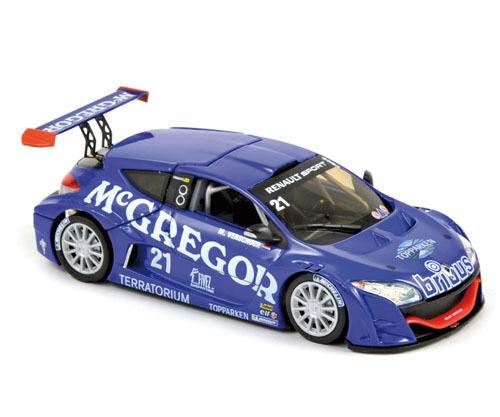 Renault Megane Trophy Winner World Series 2009 M. Verschuur 1 43 Model NOREV    Outlet