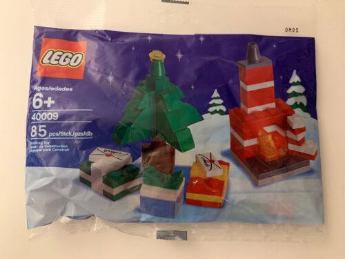 NEU New/&Sealed OVP Weihnachtsbaum und Feuerplatz im Polybag LEGO 40009
