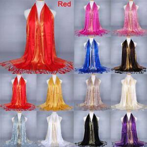 Hijab-Cotton-Pashmina-Shawl-Stole-Scarves-Tassel-Scarf-Wrap-Long
