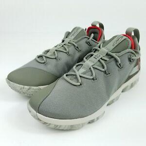 18732f25e6d50 NIKE Lebron XIV 14 Low Mens Sz 10.5 Basketball Shoes Dark Stucco ...