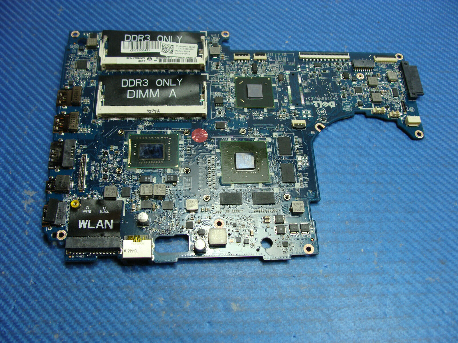 4P6HC Dell XPS 15Z Intel Laptop Motherboard w// i5-2430M 2.4GHz CPU