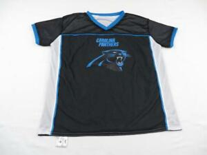 4e5698134 Image is loading Boys-Carolina-Panthers-Reversible-NFL-Flag-Jersey-Youth-