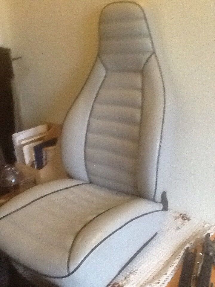 Sæde og seler, Sæder, Porsche 911