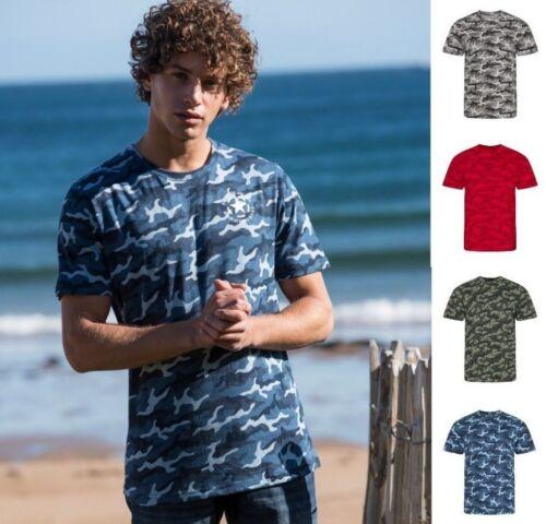 AWDis homme Camouflage T-Shirt 100/% coton-Modern Fit-Couleur Choix