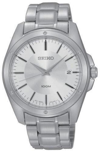 SEIKO SGEF75 SGEF75P1 Mens Watch WR100m elegant NEW RRP $325.00