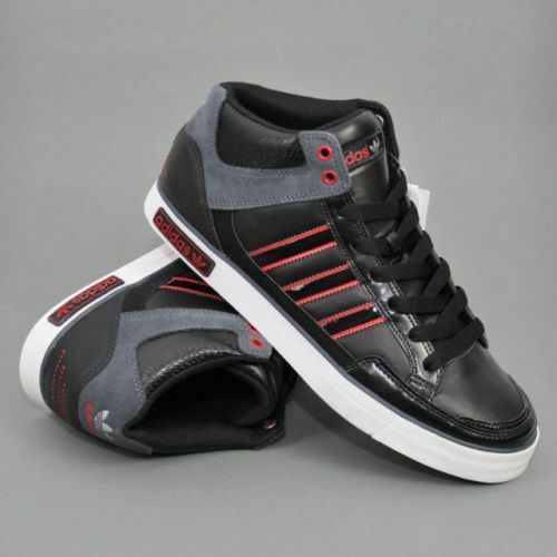Mens Adidas VC 1000 Blak/Poppy Red Q34895 Comfortable Great discount