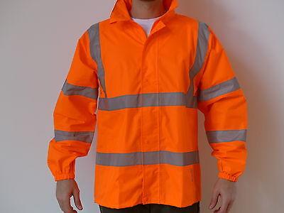 Regenjacke Hauke (orange) / Onno (gelb) Warnschutz Jacke Neu Top S - XXXXL