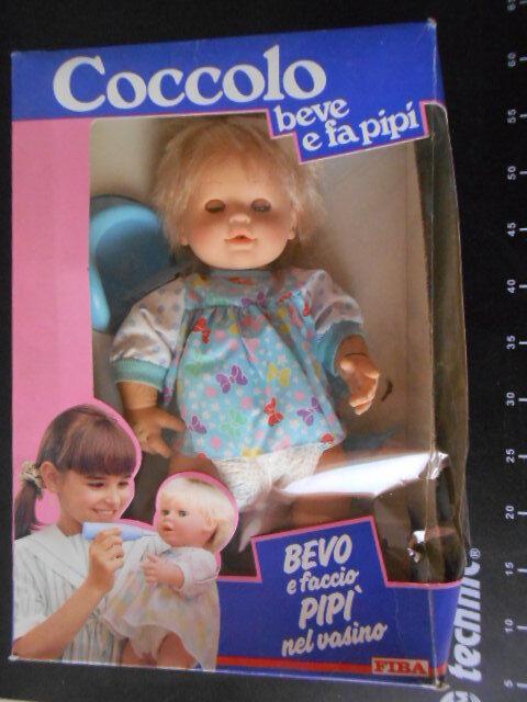 ˚。Coccolo Beve E Fa La Pipì Doll BAMBOLA FIBA Galoob GiG Hasbro 。˚