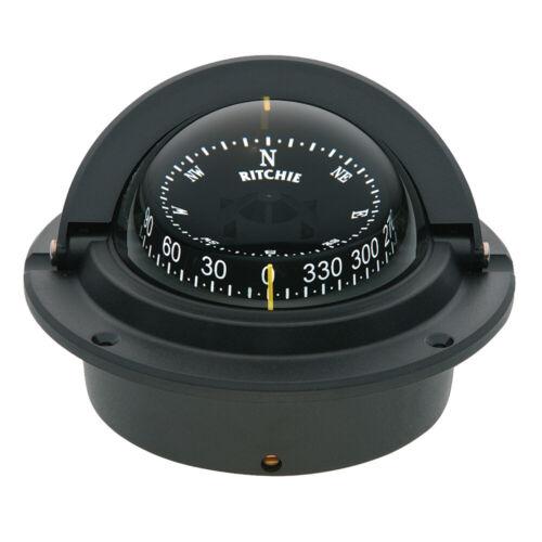 Ritchie F-83 Voyager Compass Flush Mount Black