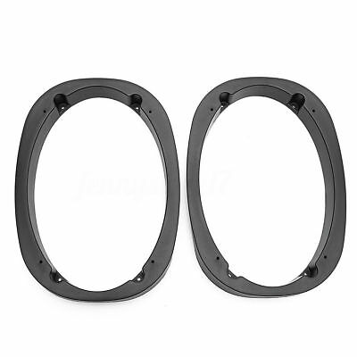 """Pair 6x9 Speaker Spacer Adapter Universal 6"""" x 9"""" 1"""" Thick for Car Speakers"""