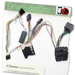 SOT-6000-Gd-Ready2Fit-IGNITION-Lead-for-Handsfree-Kit-for-Citroen-C2-C3-C4-C5