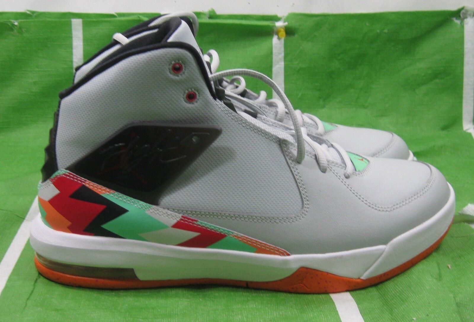 Cheap and beautiful fashion Nike 705796-015 Jordan Incline Air Sole Grey/black/red Mid Basketball Comfortable