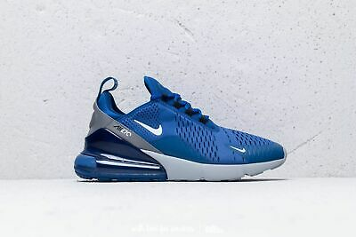 Nike Air Max 270 Indigo Force White Wolf Grey Mens Size 12 UK EU 47.5 USA 13 | eBay