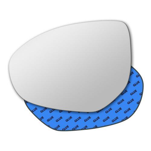 Left Hand Passenger Side Mirror Glass for Mazda 6 2007-2012 0350LS