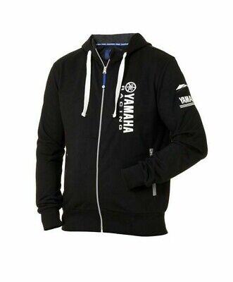 Genuine Yamaha Paddock Blue Men/'s Race Hoodie Nhi Blue Zipped Hooded Jacket NEW