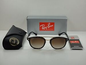 Image is loading AUTHENTIC-RAY-BAN-SUNGLASSES-RB2183-122513-TORTOISE-BROWN- 54ab18fa24