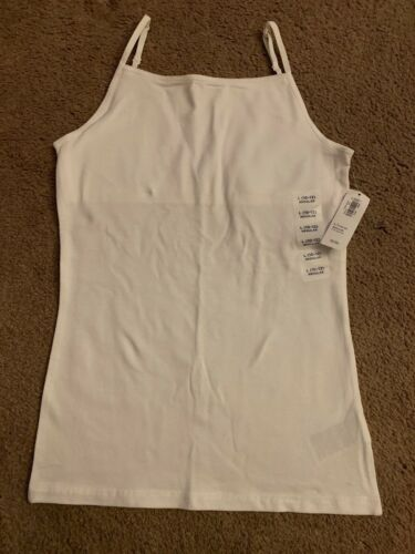 Old Navy Girl White Cami Size Large 10-12