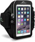 Armpocket Ultra I-35 Black Armband for iPhone 6 Samsung Galaxy S5 More Medium