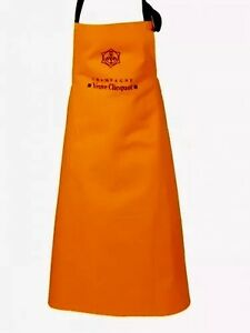 VEUVE CLICQUOT YELLOW CHAMPAGNE APRON NEW IN POLY BAG SCOOP PURCHASE WweHZioW-09100046-721950063