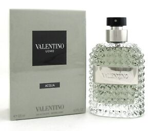 Valentino-Uomo-ACQUA-Cologne-4-2-oz-125-ml-EDT-Spray-for-Men-Brand-New-Sealed