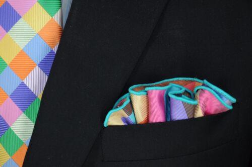 Lord R Colton Masterworks Pocket Round Manarola Porta Flora Silk $75 Retail New