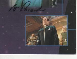 "ROBERT PICARDO SIGNED 1995 SKYBOX ""STAR TREK"" VOYAGER #9 ..."