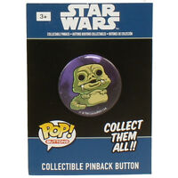 Funko Collectible Pinback Buttons - Classic Star Wars - Jabba The Hut -