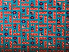 VTG Cotton Quilt Fabric Southwest Motif Original Santa Fe Designs by Haber BTHY