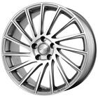 "Jante alu Volkswagen Golf 17"" - Brock B39 silver Mirror"