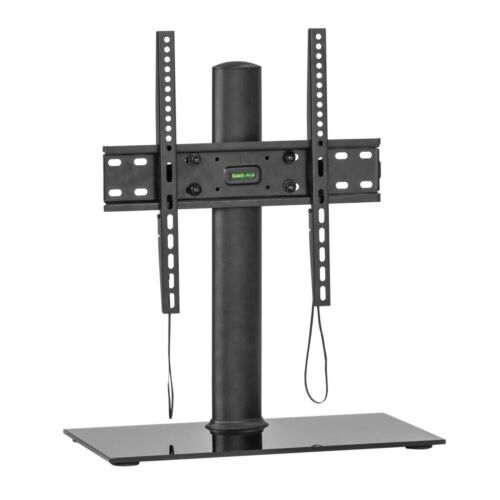 """MMT Universal Table Top TV Stand Pedestal for 37/""""-55/"""" LED LCD Height Adjustable"""