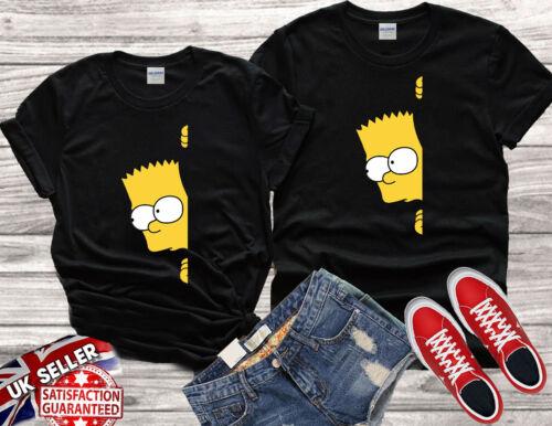 Bart The Simpsons Lovers Movie funny Cool Men Women Unisex T-shirt Vest Top V169