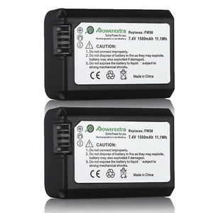 2-NP-FW50-Battery-for-SONY-NEX-3N-NEX-5T-NEX-6-NEX-7-A3000-A5000-A6000-A7